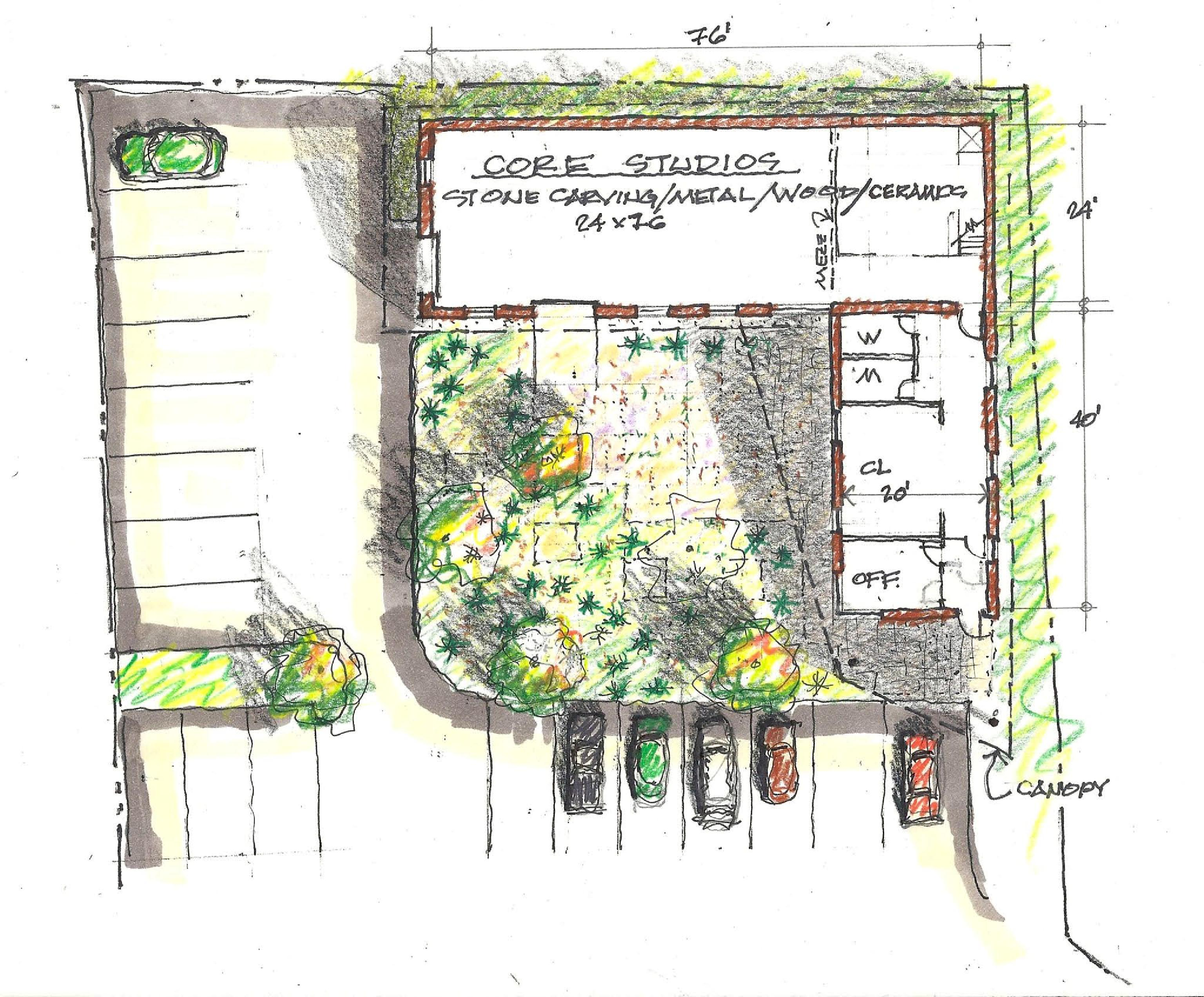 Future plans ava gallery for Building site plan