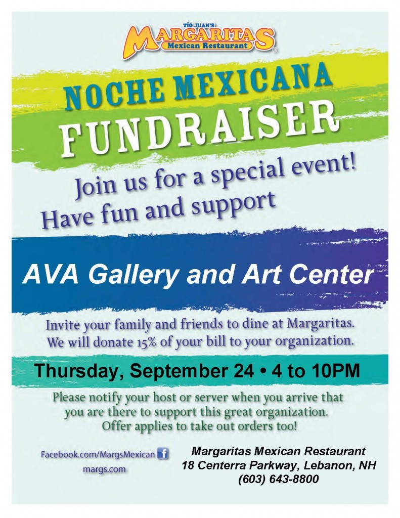 Margaritas Noche Poster - AVA Gallery and Art Center