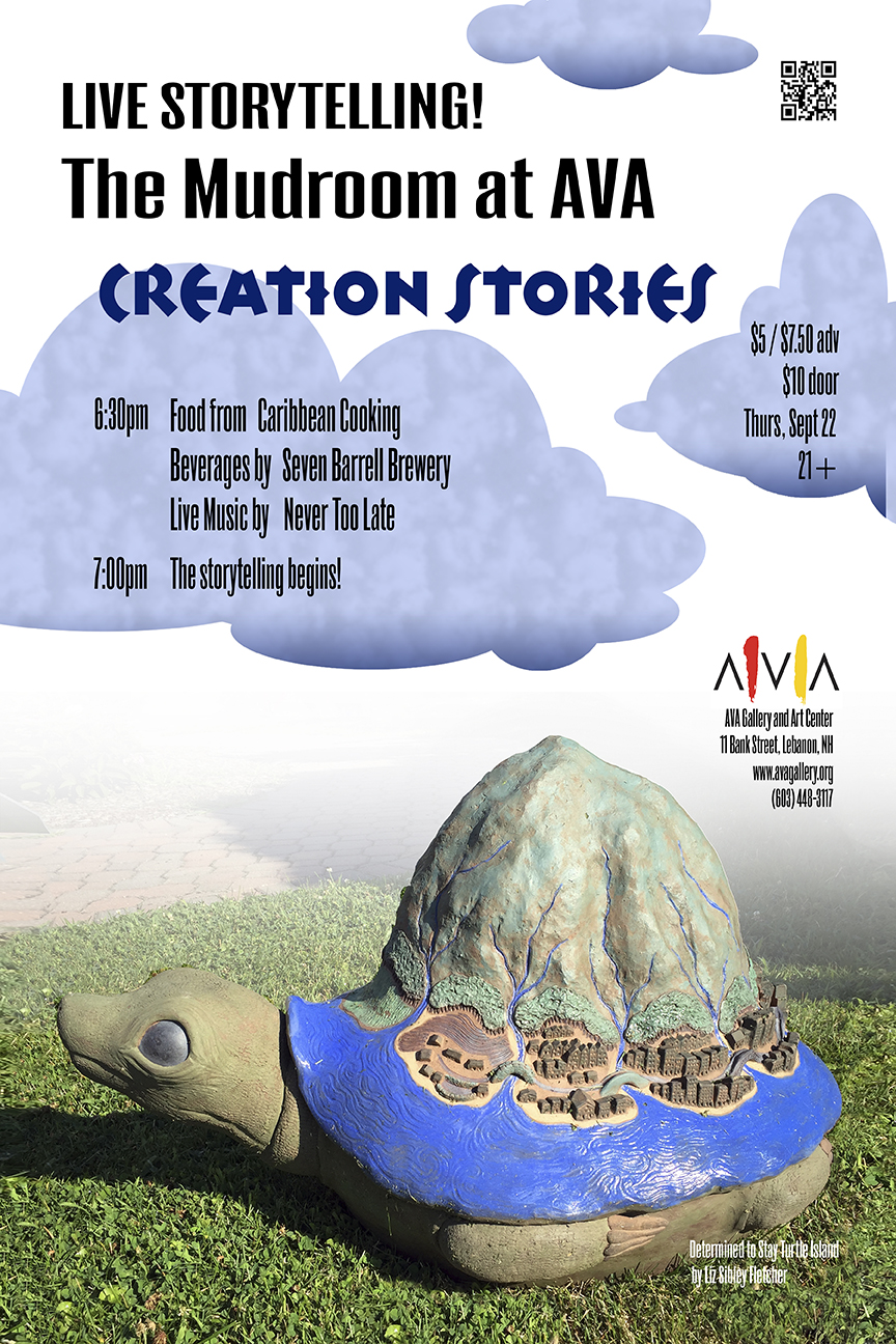 Mudroom_Creation Stories_Poster_web