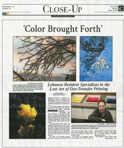 ColorBrought Forth front page