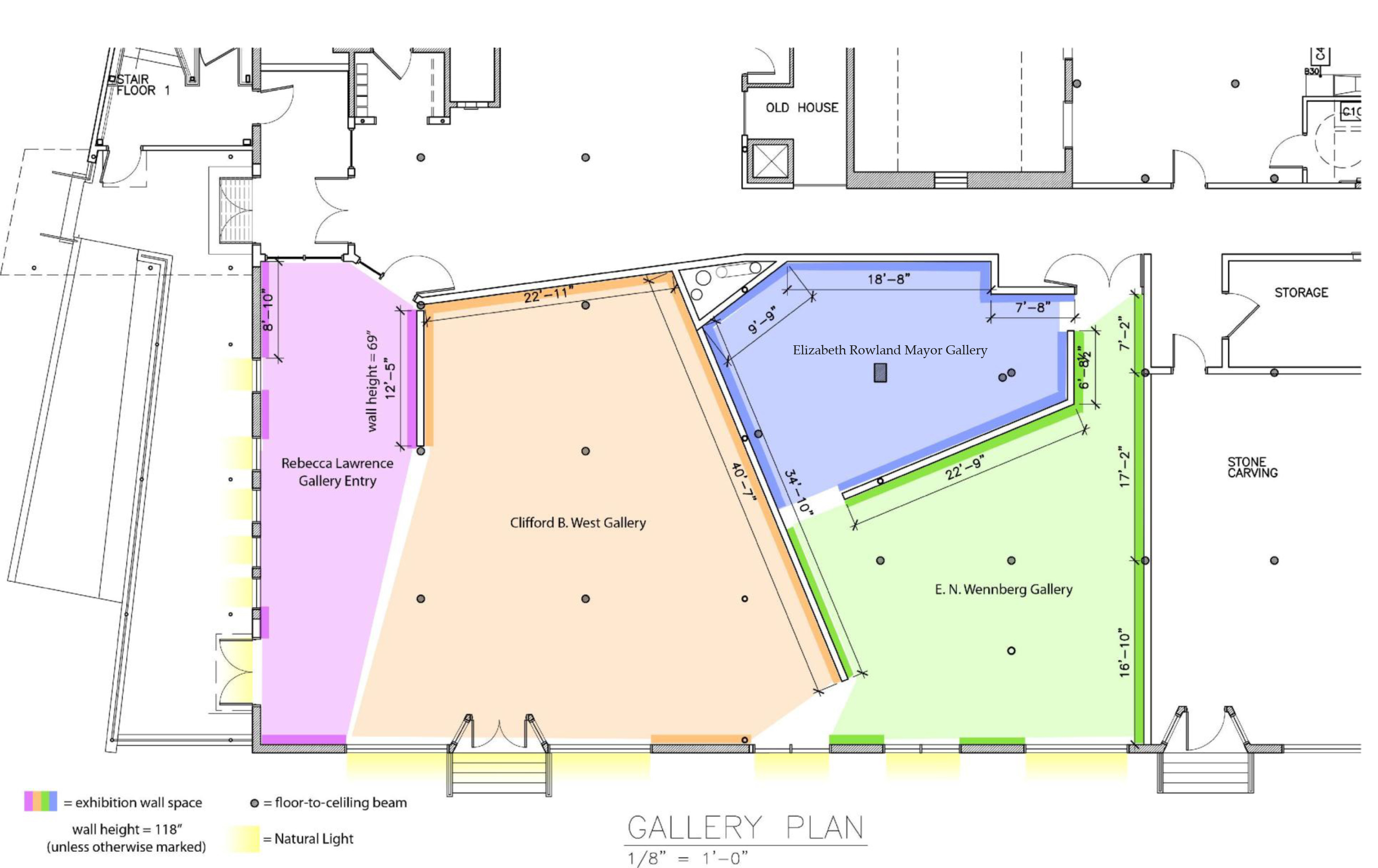 AVA Gallery Groundplan