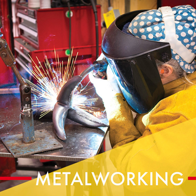 Metalworking Classes at AVA