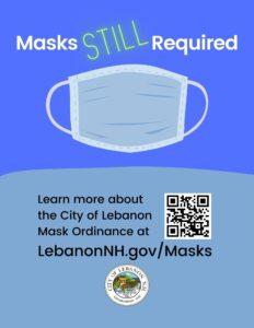 Masks Still Required City of Lebanon